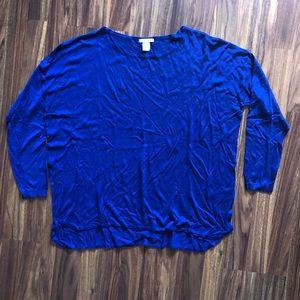 H&M Basic Blue Sweater